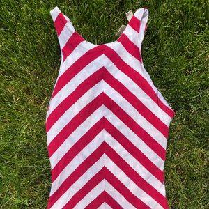 Zara Collection Stripe Sleeveless Summer Dress